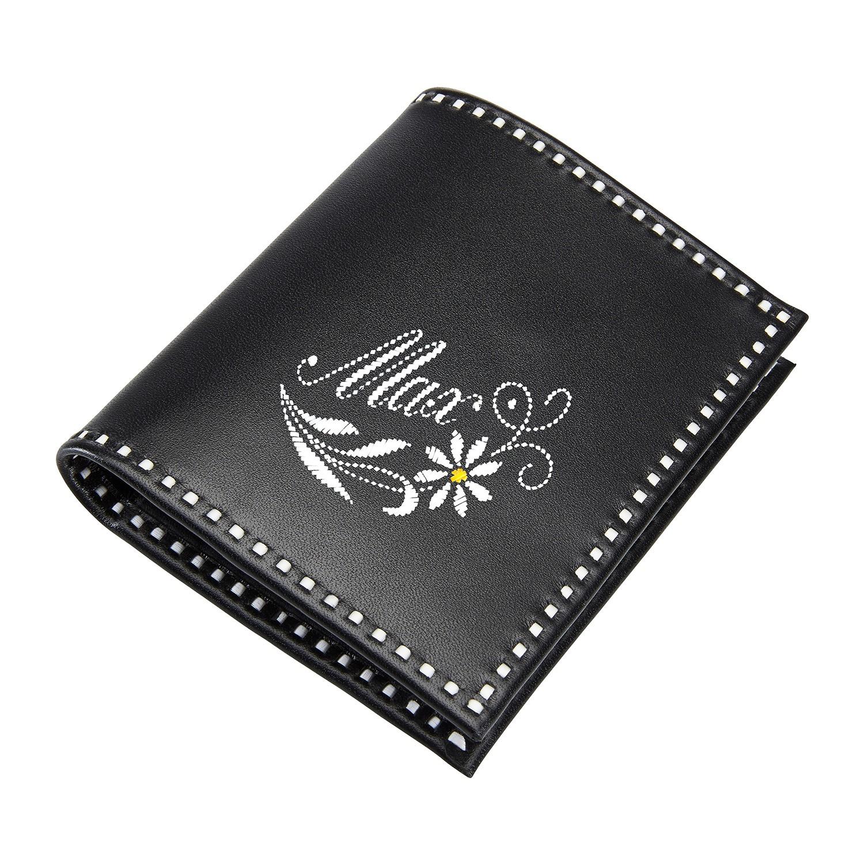 Sarner Geldtasche mit Blume