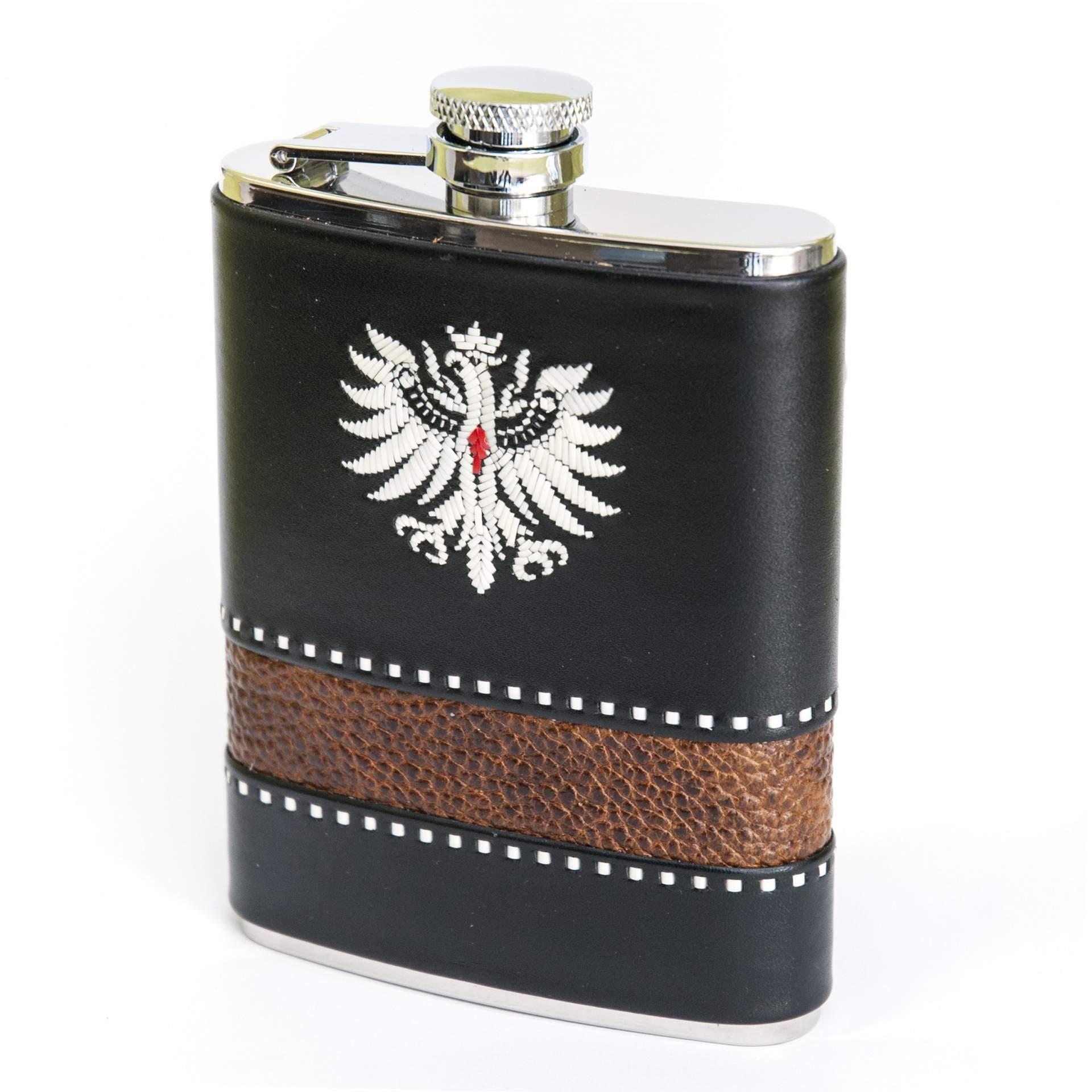 Flachmann mit Tiroler Adler