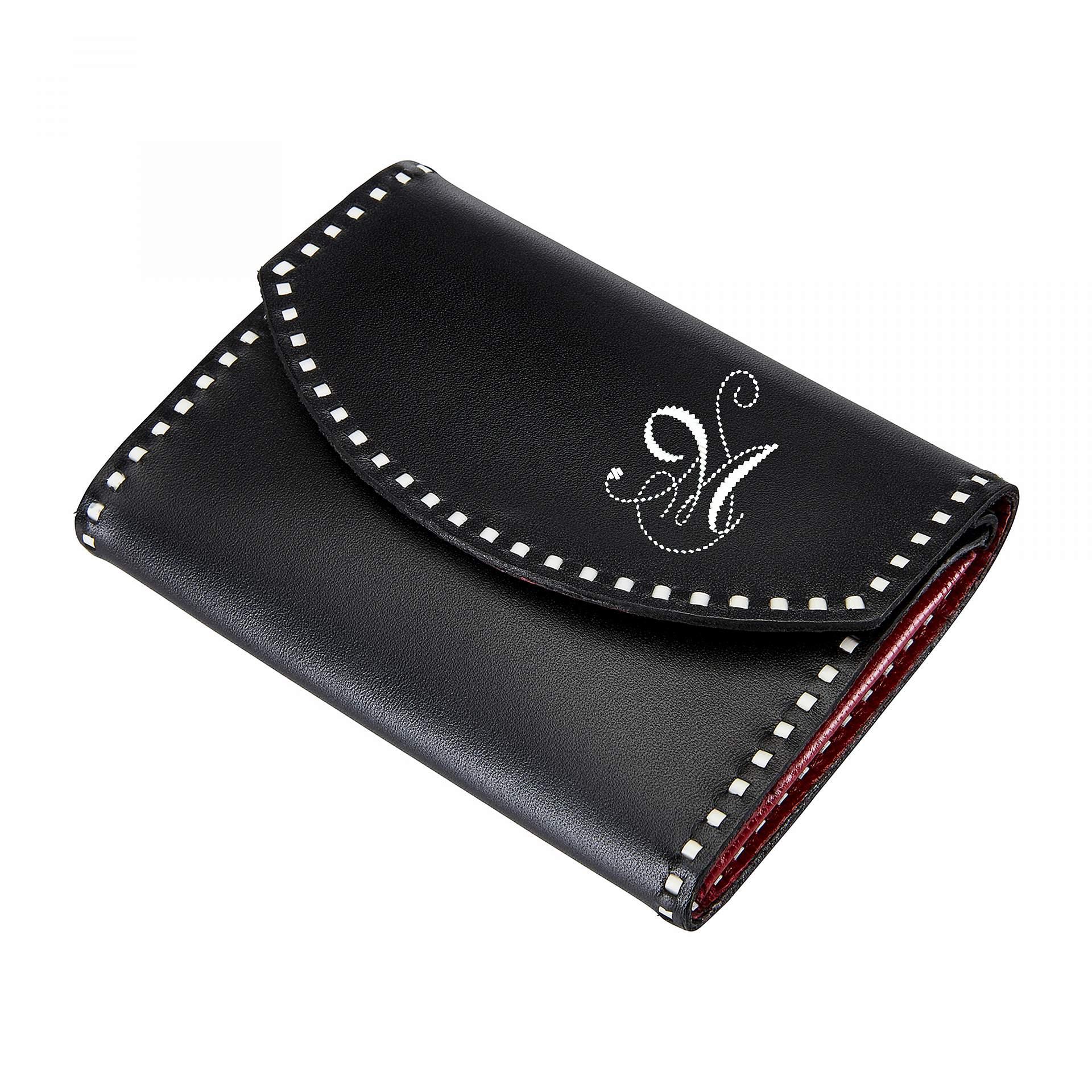 Sarner Geldtasche mit einer Initiale