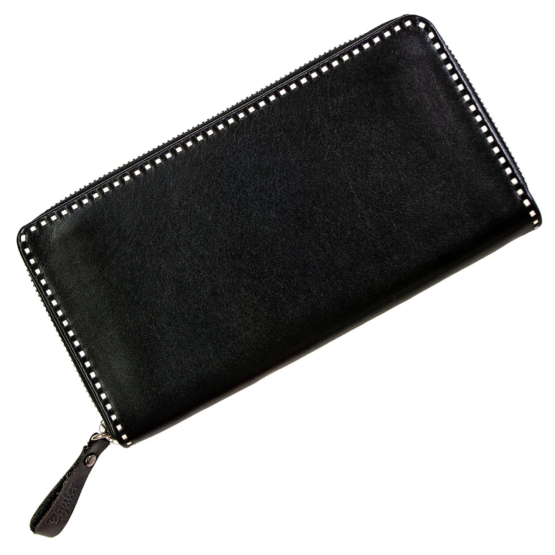 Sarner Geldtasche mit Randstickerei